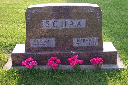 SCHAA, GEORGE - Hamilton County, Iowa | GEORGE SCHAA