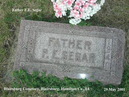SEGAR, PETER. E. - Hamilton County, Iowa | PETER. E. SEGAR