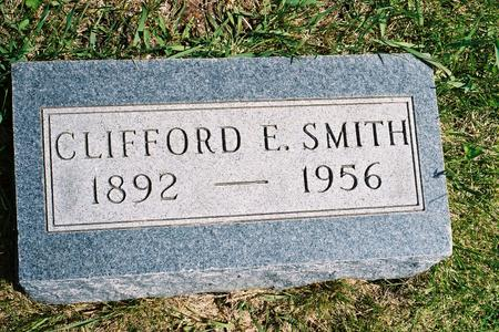 SMITH, CLIFFORD E. - Hamilton County, Iowa | CLIFFORD E. SMITH