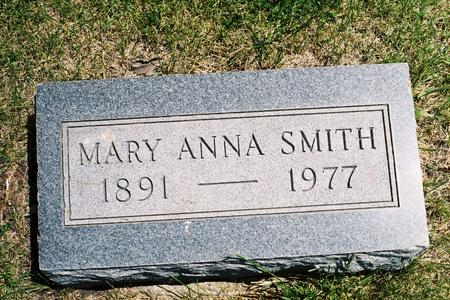 WOLF SMITH, MARY ANNA - Hamilton County, Iowa | MARY ANNA WOLF SMITH