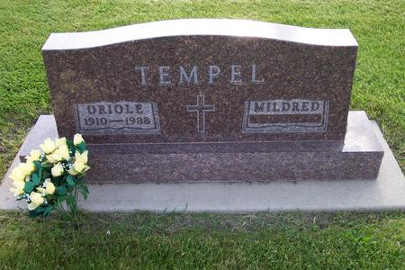 TEMPEL, MILDRED - Hamilton County, Iowa | MILDRED TEMPEL