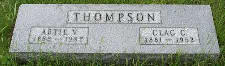 THOMPSON THOMPSON, ARTIE VIOLA - Hamilton County, Iowa | ARTIE VIOLA THOMPSON THOMPSON