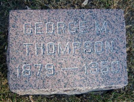 THOMPSON, GEORGE M. - Hamilton County, Iowa | GEORGE M. THOMPSON