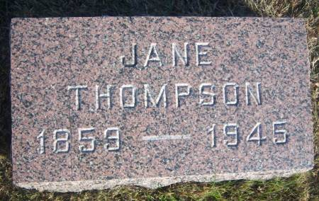 COURTER THOMPSON, JANE (MARGARET) - Hamilton County, Iowa | JANE (MARGARET) COURTER THOMPSON