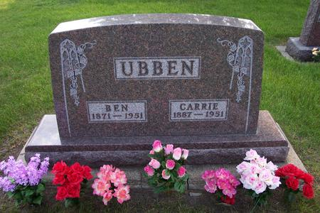 UBBEN, CARRIE - Hamilton County, Iowa | CARRIE UBBEN