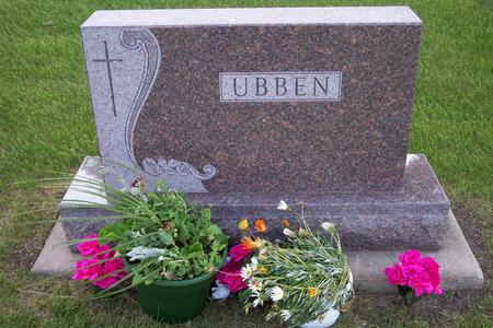 UBBEN, FAMILY GRAVESTONE - Hamilton County, Iowa | FAMILY GRAVESTONE UBBEN