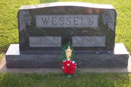 NABER WESSELS, MINNIE - Hamilton County, Iowa | MINNIE NABER WESSELS