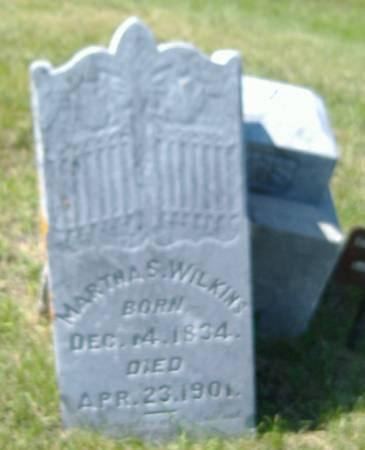 WILKINS, MARTHA S. - Hamilton County, Iowa | MARTHA S. WILKINS