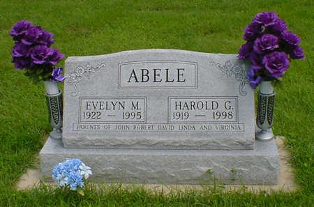 ABELE, HAROLD G - Hancock County, Iowa | HAROLD G ABELE