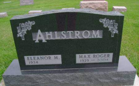 AHLSTROM, MAX R - Hancock County, Iowa | MAX R AHLSTROM