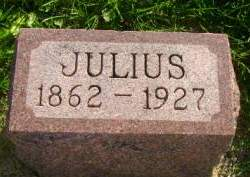 AHRENKIEL, JULIUS - Hancock County, Iowa | JULIUS AHRENKIEL
