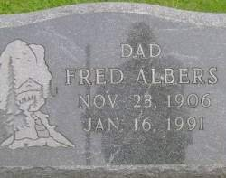 ALBERS, FRED - Hancock County, Iowa   FRED ALBERS