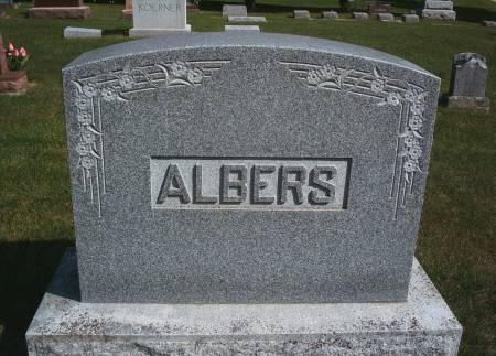 ALBERS, FAMILY MONUMENT - Hancock County, Iowa | FAMILY MONUMENT ALBERS