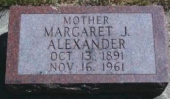 HANSEN ALEXANDER, MARGARET J - Hancock County, Iowa | MARGARET J HANSEN ALEXANDER