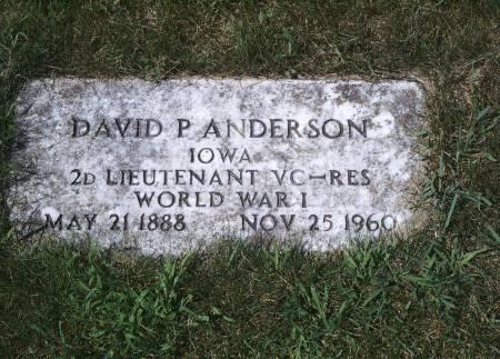 ANDERSON, DAVID P - Hancock County, Iowa | DAVID P ANDERSON