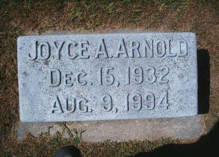ARNOLD, JOYCE A - Hancock County, Iowa | JOYCE A ARNOLD