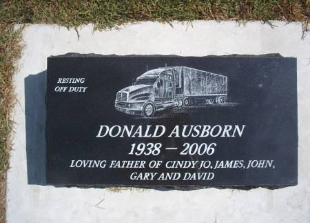AUSBORN, DONALD - Hancock County, Iowa | DONALD AUSBORN