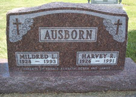 BUNK AUSBORN, MILDRED L - Hancock County, Iowa | MILDRED L BUNK AUSBORN