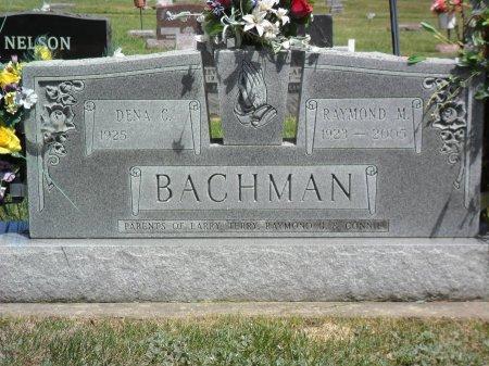 BACHMAN, RAYMOND M - Hancock County, Iowa   RAYMOND M BACHMAN