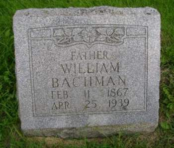 BACHMAN, WILLIAM - Hancock County, Iowa | WILLIAM BACHMAN
