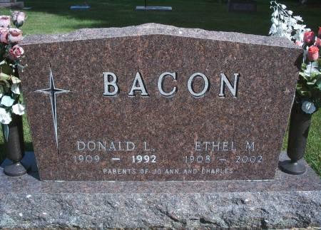 WELLEMEYER BACON, ETHEL M - Hancock County, Iowa | ETHEL M WELLEMEYER BACON