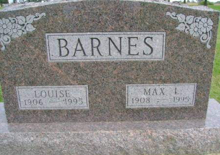 BARNES, LOUISE - Hancock County, Iowa | LOUISE BARNES