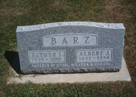 BARZ, ALBERT J - Hancock County, Iowa | ALBERT J BARZ
