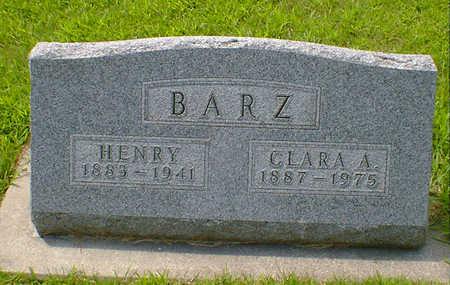 BARZ, CLARA A - Hancock County, Iowa | CLARA A BARZ