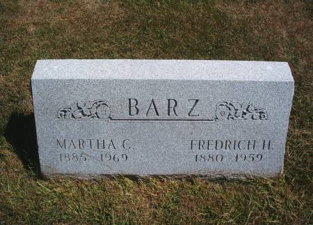 BARZ, MARTHA C - Hancock County, Iowa | MARTHA C BARZ