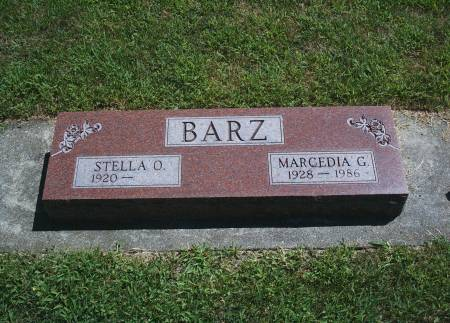 BARZ, MARCEDIA G - Hancock County, Iowa | MARCEDIA G BARZ