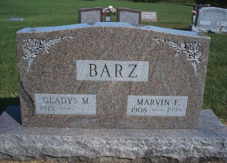 BARZ, MARVIN F - Hancock County, Iowa | MARVIN F BARZ