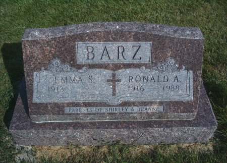 BARZ, RONALD A - Hancock County, Iowa | RONALD A BARZ