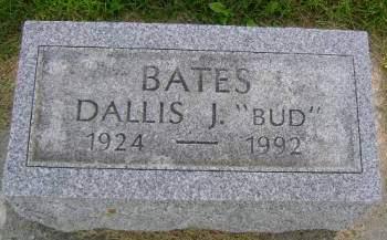 BATES, DALLIS J - Hancock County, Iowa | DALLIS J BATES