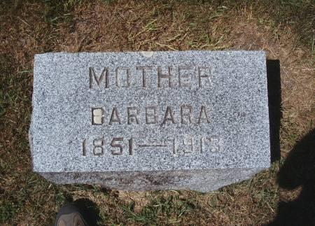 BECKER, BARBARA - Hancock County, Iowa | BARBARA BECKER