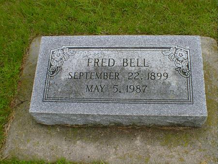 BELL, FRED - Hancock County, Iowa | FRED BELL