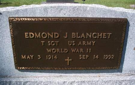 BLANCHET, EDMOND - Hancock County, Iowa   EDMOND BLANCHET