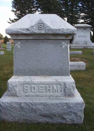 BOEHM, FAMILY MONUMENT - Hancock County, Iowa | FAMILY MONUMENT BOEHM