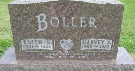 BOLLER, HARVEY E - Hancock County, Iowa   HARVEY E BOLLER