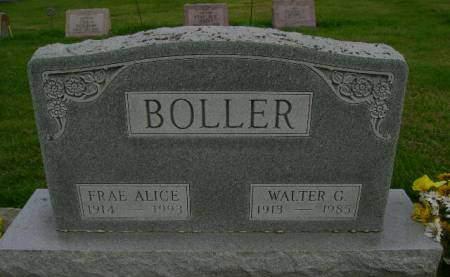 BOLLER, WALTER C - Hancock County, Iowa | WALTER C BOLLER