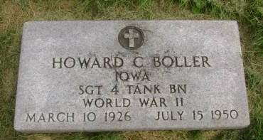 BOLLER, HOWARD C - Hancock County, Iowa | HOWARD C BOLLER