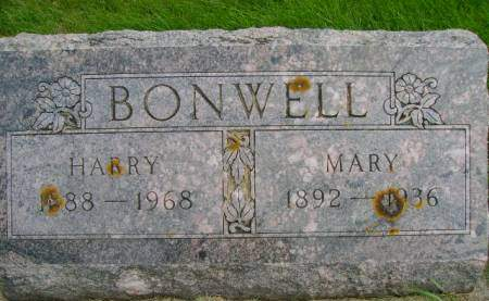 BONWELL, HARRY - Hancock County, Iowa | HARRY BONWELL