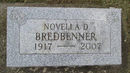 BREDBENNER, NOVELLA D - Hancock County, Iowa | NOVELLA D BREDBENNER