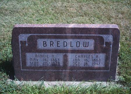 STILLE BREDLOW, MINNIE A - Hancock County, Iowa | MINNIE A STILLE BREDLOW