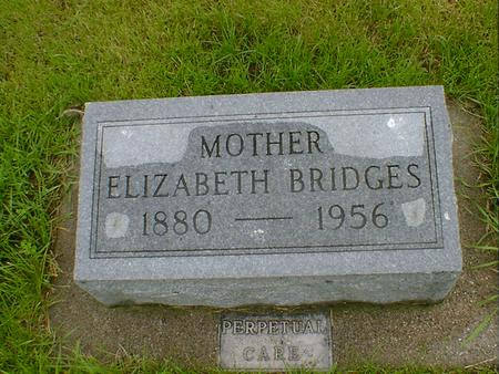 BRIDGES, ELIZABETH - Hancock County, Iowa | ELIZABETH BRIDGES