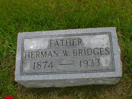 BRIDGES, HERMAN W - Hancock County, Iowa | HERMAN W BRIDGES