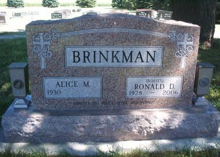 BRINKMAN, RONALD D - Hancock County, Iowa | RONALD D BRINKMAN