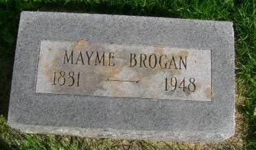 BROGAN, MAYME - Hancock County, Iowa | MAYME BROGAN