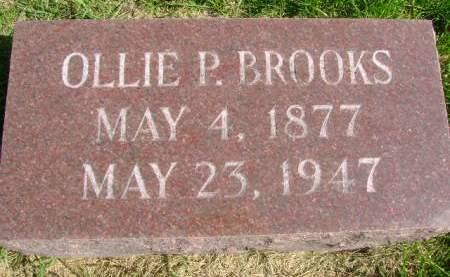 BROOKS, OLLIE P - Hancock County, Iowa | OLLIE P BROOKS