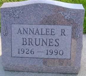 BRUNES, ANNALEE R - Hancock County, Iowa | ANNALEE R BRUNES