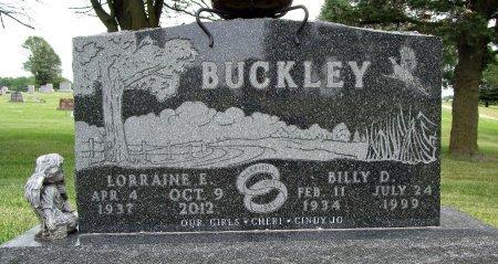 BUCKLEY, BILLY D - Hancock County, Iowa | BILLY D BUCKLEY